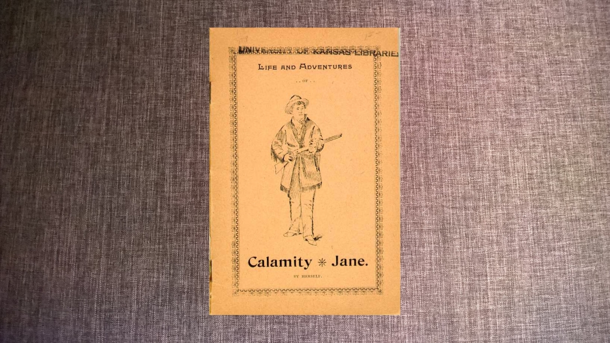 Life and adventures of Calamity Jane (par elle-même)